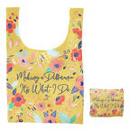 View larger image of Fold-N-Go Reusable Bag - Making a Difference