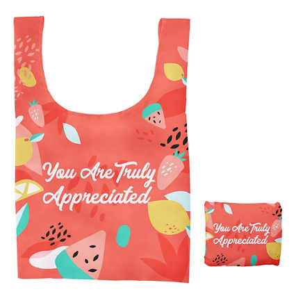 Fold-N-Go Reusable Bag - Truly Appreciated