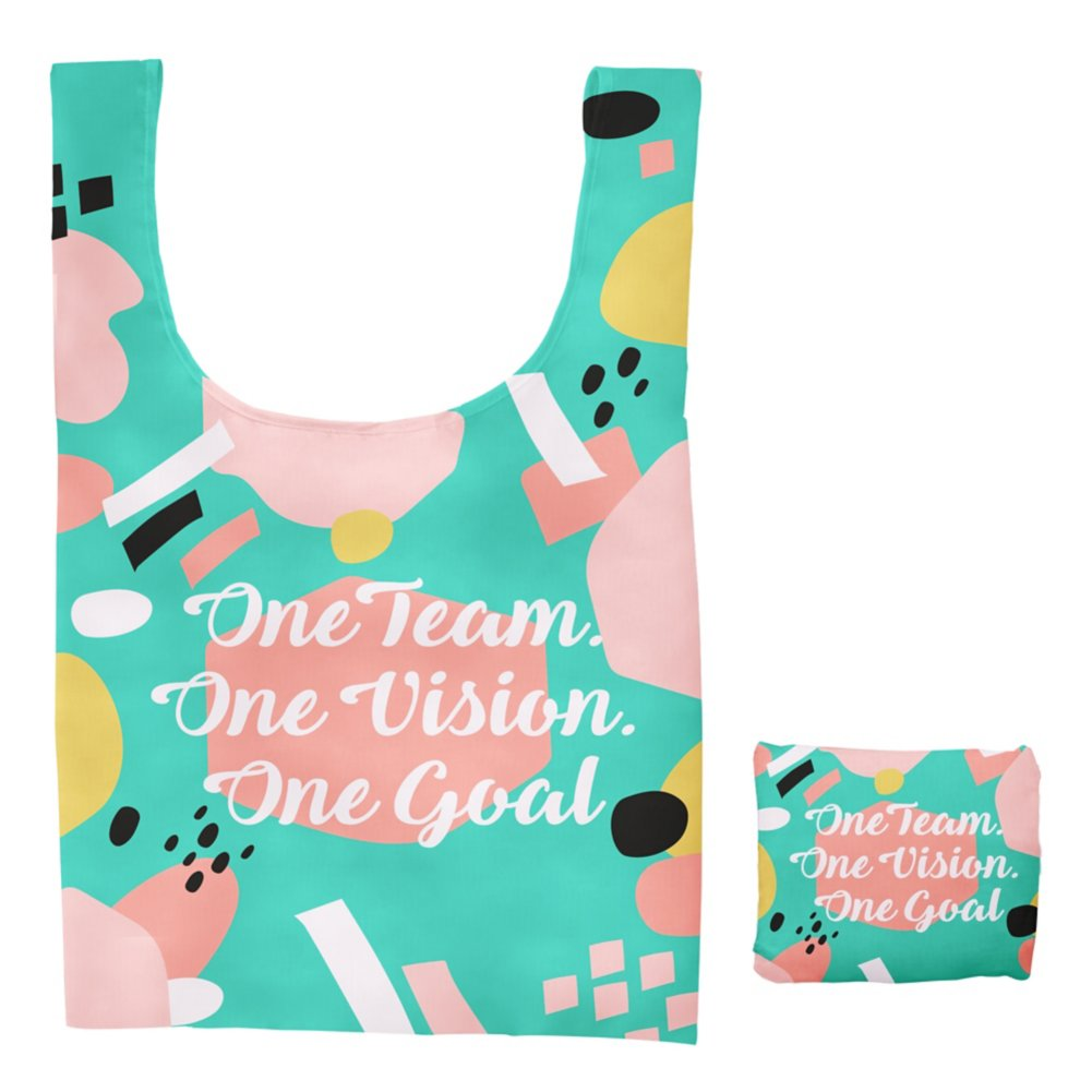 View larger image of Fold-N-Go Reusable Bag - One Team