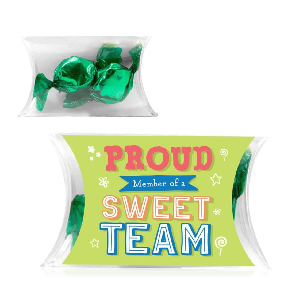 View larger image of Candygram Pillow 5-Pack - Foil Candy: Sweet Team