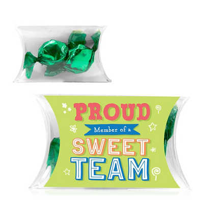 Candygram Pillow Pack - Sweet Team - Foil Candies