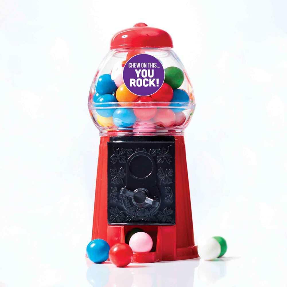 View larger image of Goody Gumball Machine Set - Chew on This