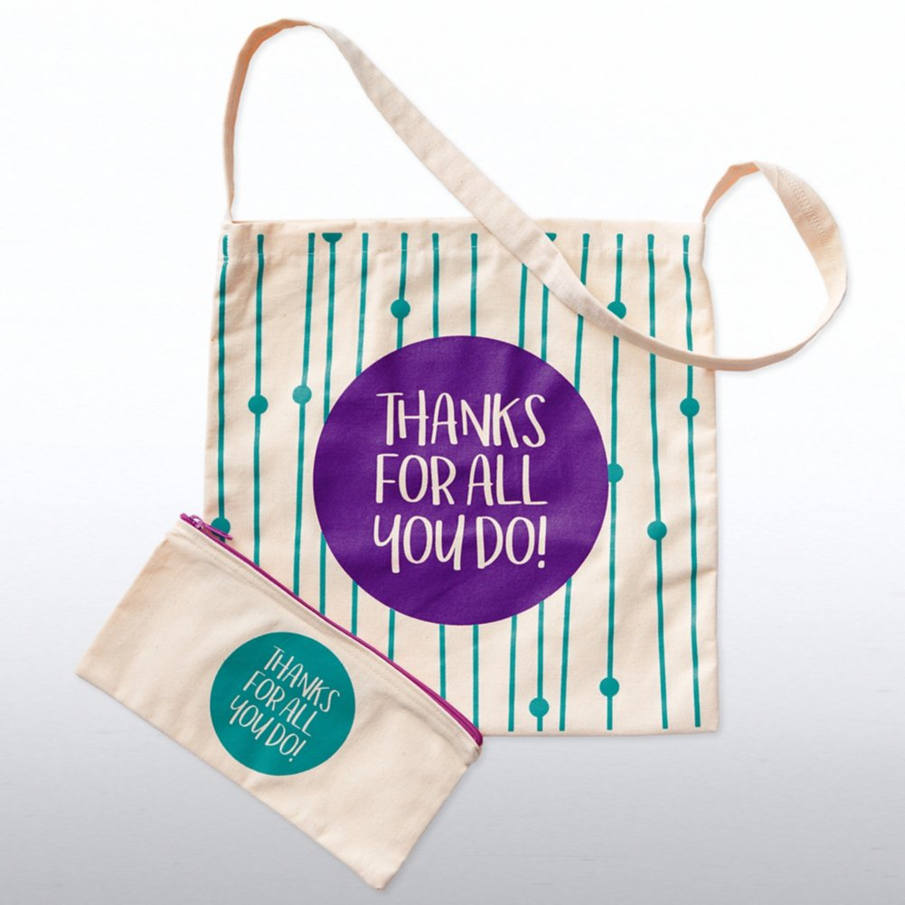 View larger image of Totes Amazing Gift Set - Thanks For All You Do