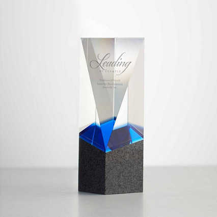 Granite Gratitude Trophy Diamond Cut