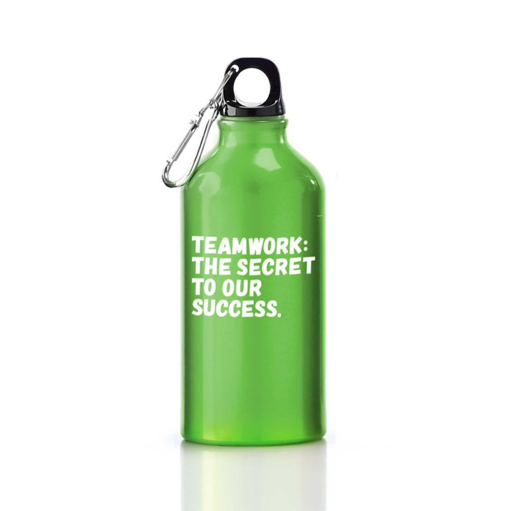Value Carabiner Canteen-Teamwork: The Secret To Our Success