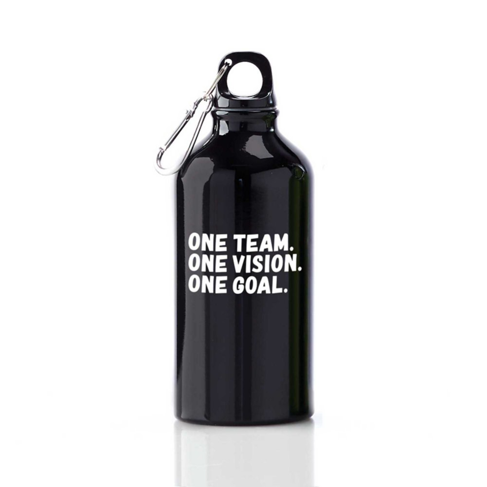View larger image of Value Carabiner Canteen - One Team. One Vision. One Goal.