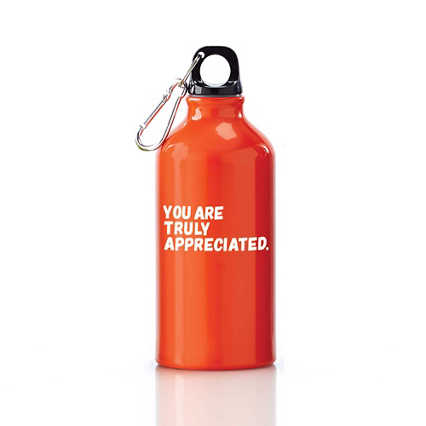 Value Carabiner Canteen - You Are Truly Appreciated