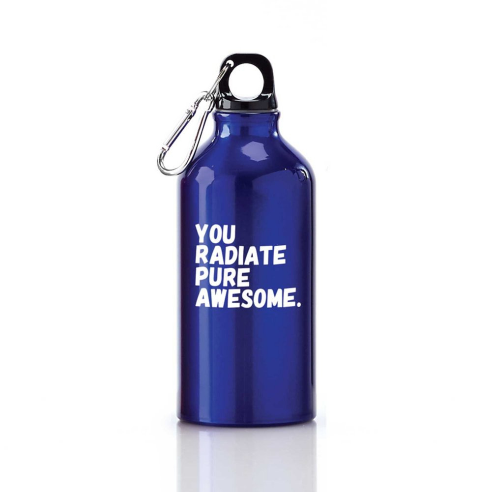 View larger image of Value Carabiner Canteen - You Radiate Pure Awesome