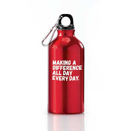Value Carabiner Canteen - Making a Difference Every Day