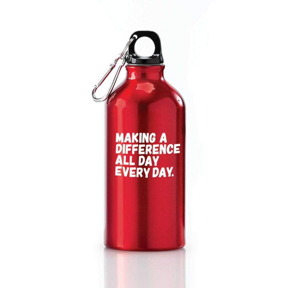 View larger image of Value Carabiner Canteen - Making a Difference Everyday
