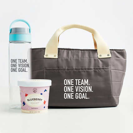 Healthy Habits Lunch Tote Gift Set - One Team
