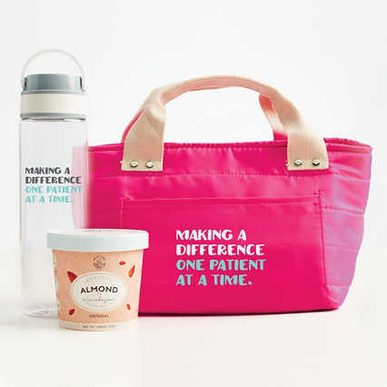 Healthy Habits Lunch Tote Gift Set - Making a Difference