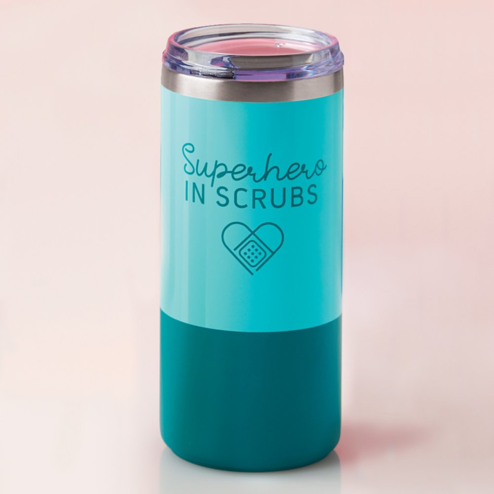 View larger image of Melrose Travel Tumbler - Superhero in Scrubs