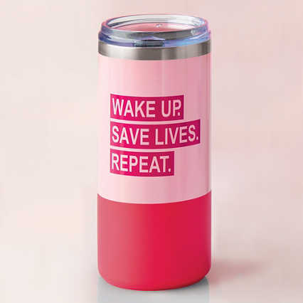 Melrose Travel Tumbler - Wake Up