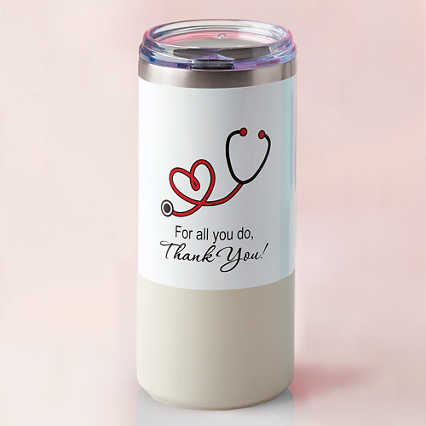 Melrose Travel Tumbler - Thank You