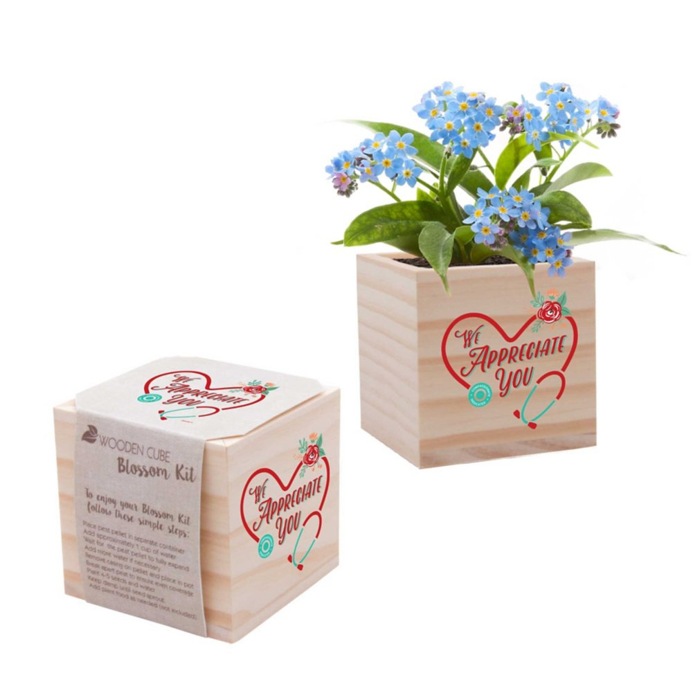 View larger image of Nurse Appreciation Plant Cube - We Appreciate You