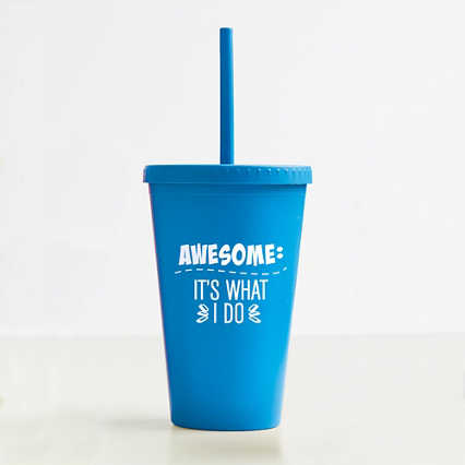 Eco-Smart Wheat Tumbler - Awesome: It's What I Do