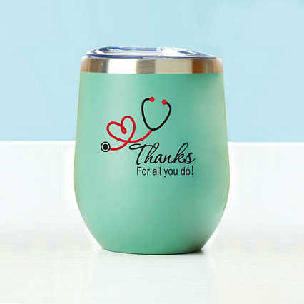 Wine Down Tumbler - Thanks For All You Do