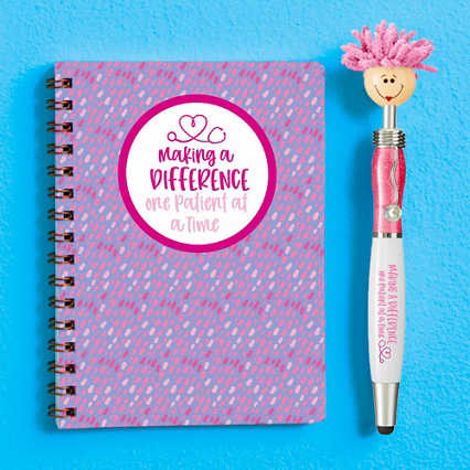 Goofy Gal Mop Topper Pen & Mini Notebook Set - Making a Difference