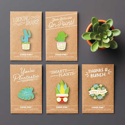 Cheer Pin Bundle - Plantable Praise