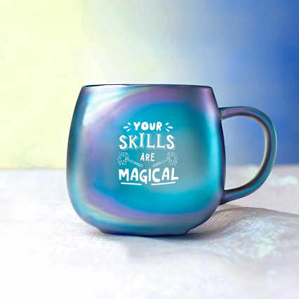Unicorn Ceramic Mug - Your Skills Are Magical