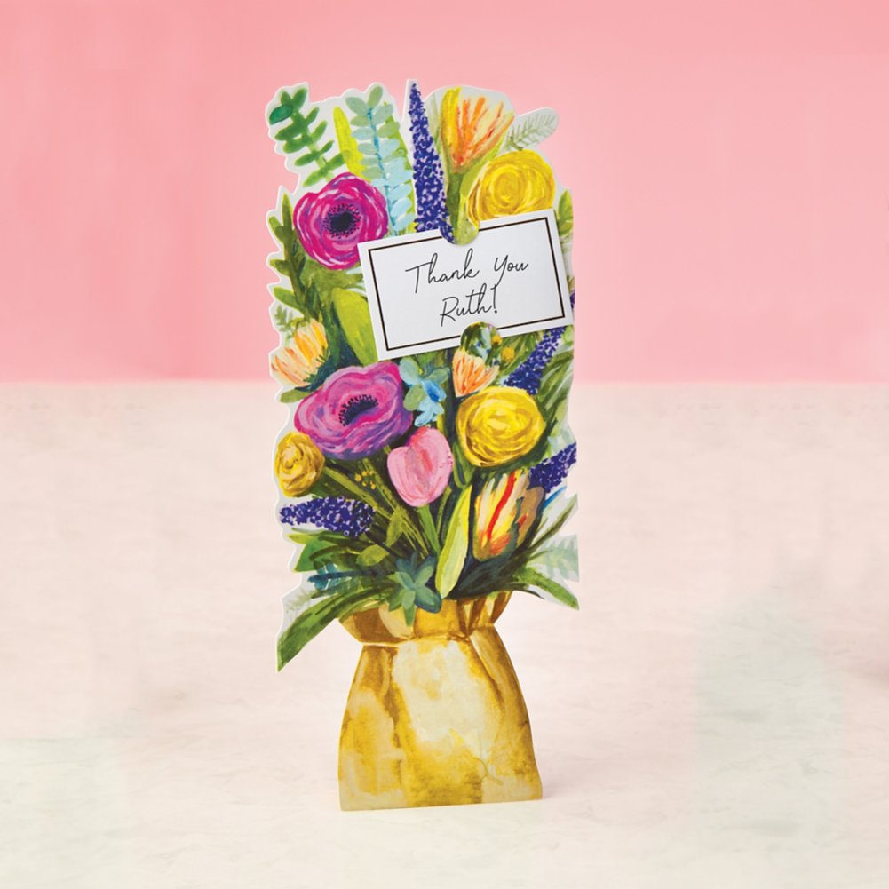 View larger image of Bouquet of Blooms Pop-Up Greeting Card - Wildflower