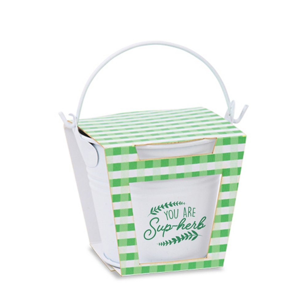 View larger image of Mini Bloom Pail Garden Set - You are Sup-herb