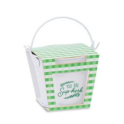 Mini Bloom Pail Garden Set - You are Sup-herb