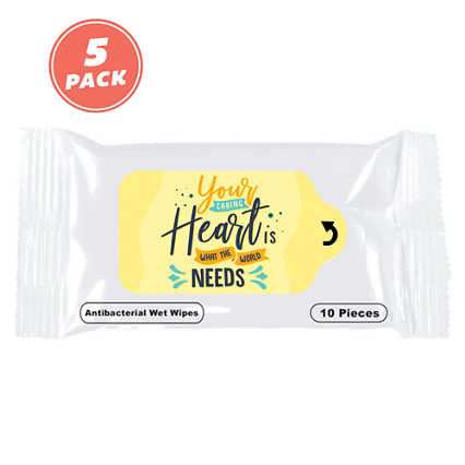 Positive Sanitizing Wipes - Caring Heart