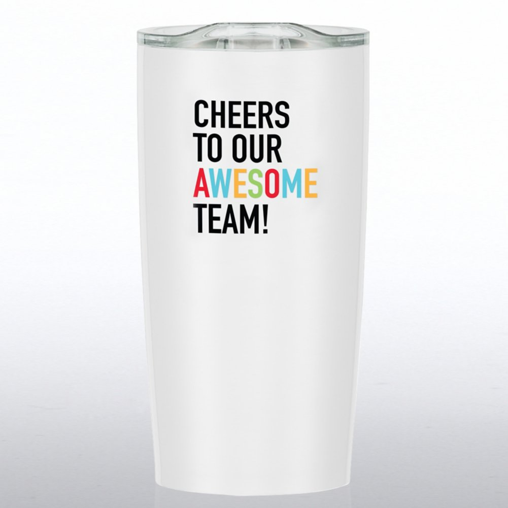 View larger image of The Betti Stainless Travel Mug - Cheers To Our Awesome Team