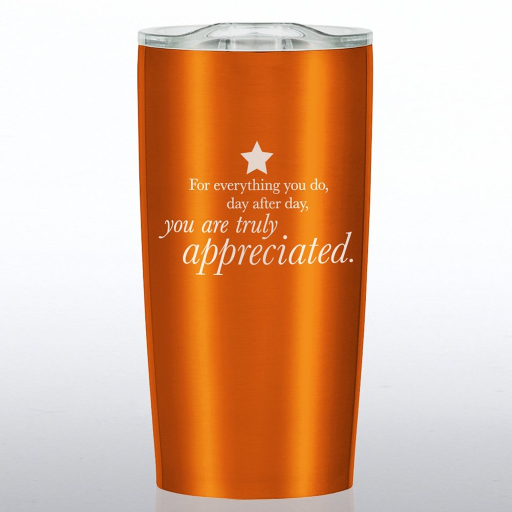 View larger image of The Betti Stainless Travel Mug - You Are Truly Appreciated