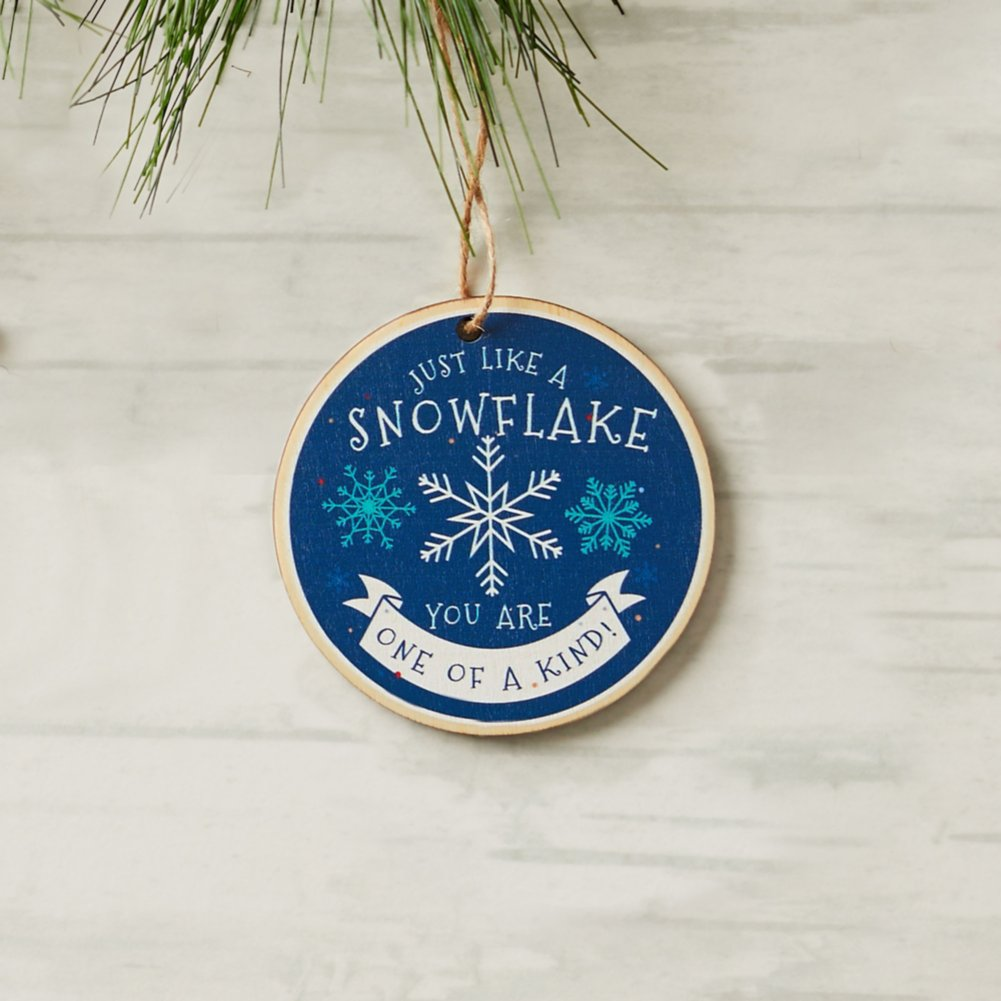 View larger image of Classic Wooden Ornament - One of a Kind
