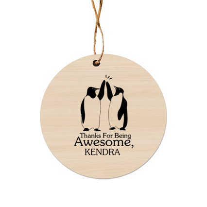 Classic Wooden Ornament - One of a Kind