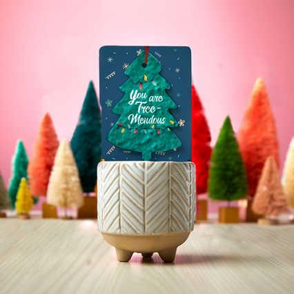 Grateful Hearts Plantable Ornament & Planter Sets - You Are Tree-Mendous