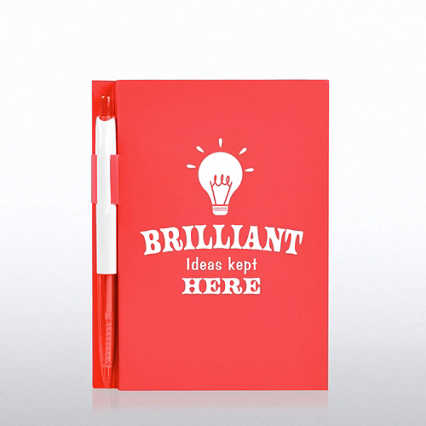 Value Journal & Pen Gift Set - Brilliant Ideas