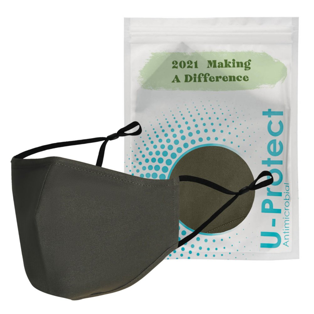 View larger image of Anti-Microbial Face Mask in Pouch - 2021