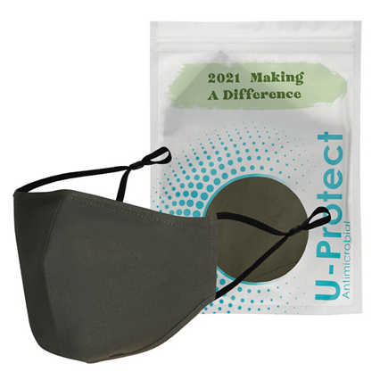 Anti-Microbial Face Mask in Pouch - 2021