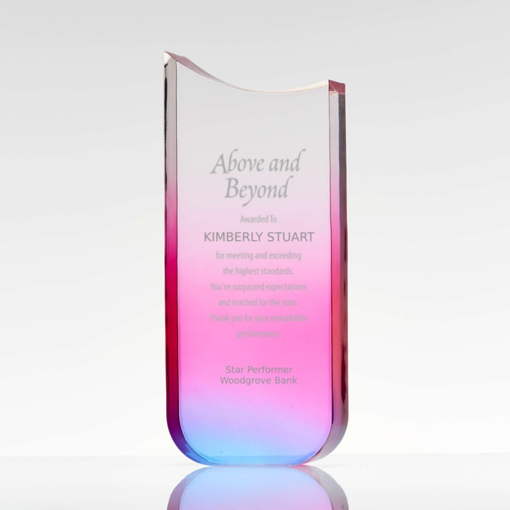 View larger image of Colorful Gradient Trophy Tower