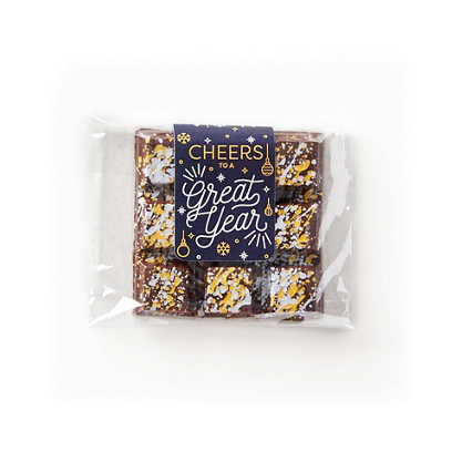 Sweet Gratitude Chocolate Bar - Cheers to a Great Year