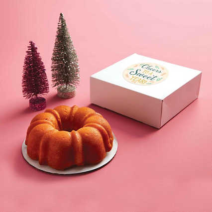 Mini Bundt Cake - Honeybell Orange