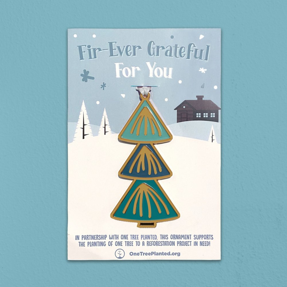 View larger image of Giving Tree Ornament - Fir-Ever Grateful for You