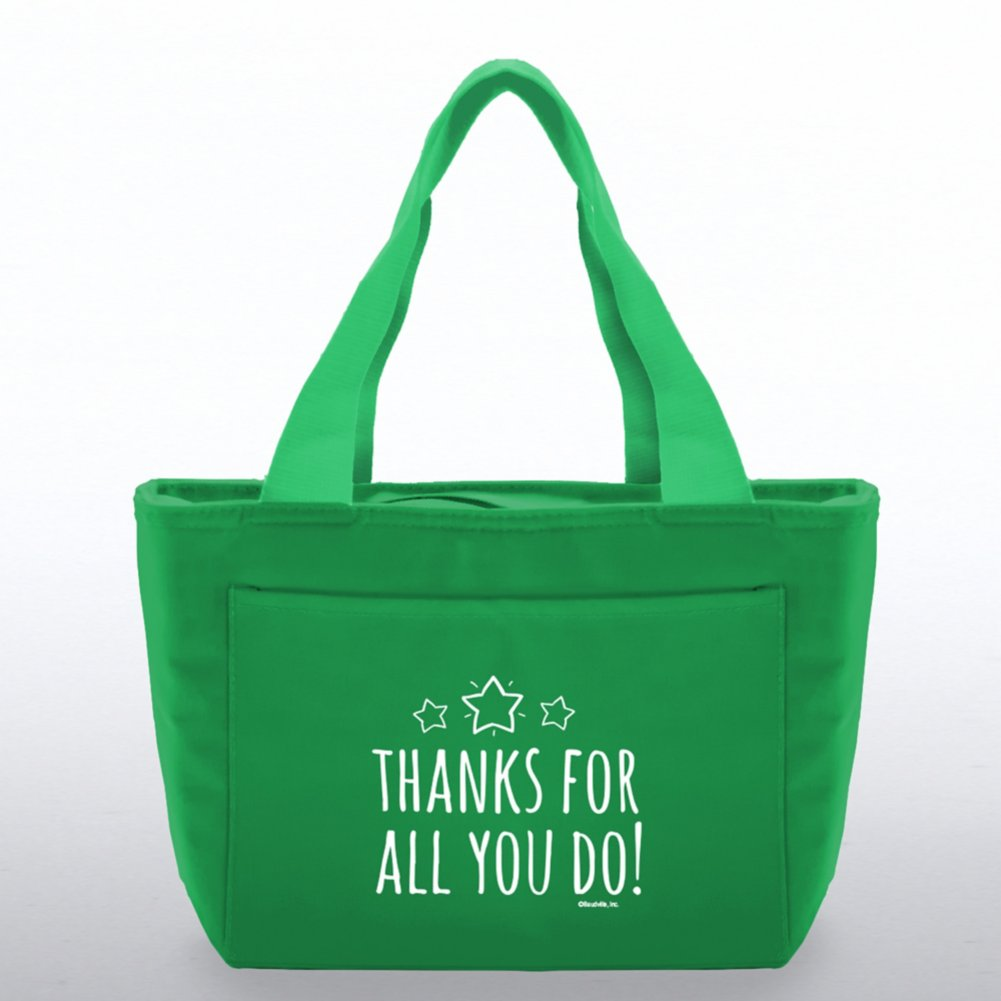 View larger image of Color Pop Value Cooler Tote - Thanks For All You Do