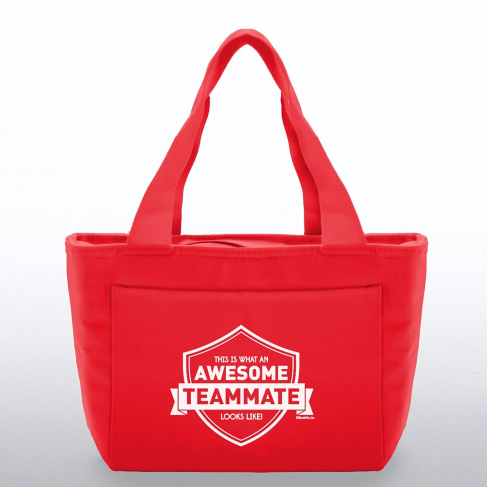 View larger image of Color Pop Value Cooler Tote - Awesome Teammate
