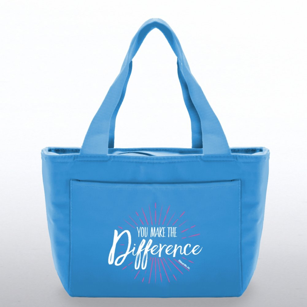 Color Pop Value Cooler Tote - You Make The Difference