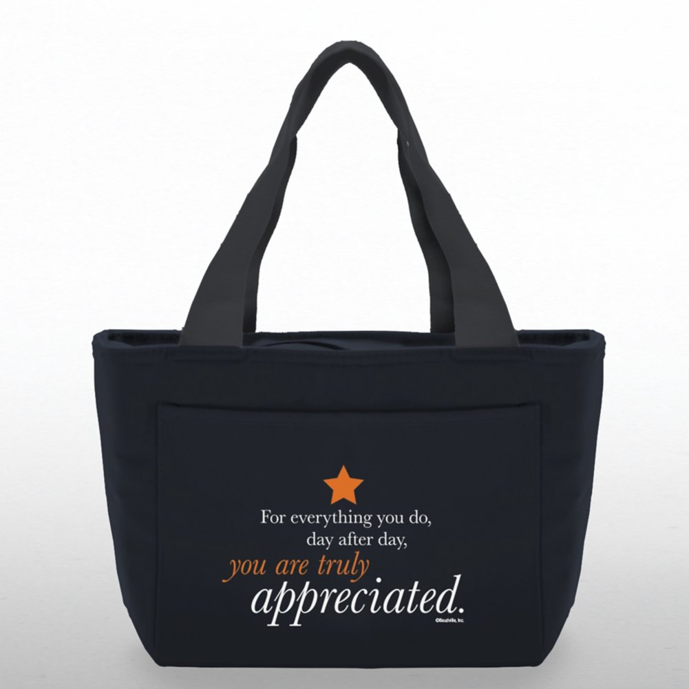 View larger image of Color Pop Value Cooler Tote - You are Truly Appreciated