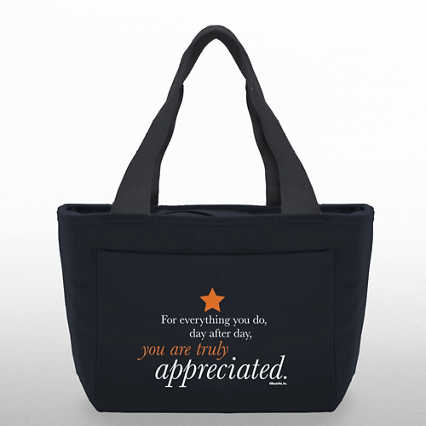 Color Pop Value Cooler Tote - You are Truly Appreciated