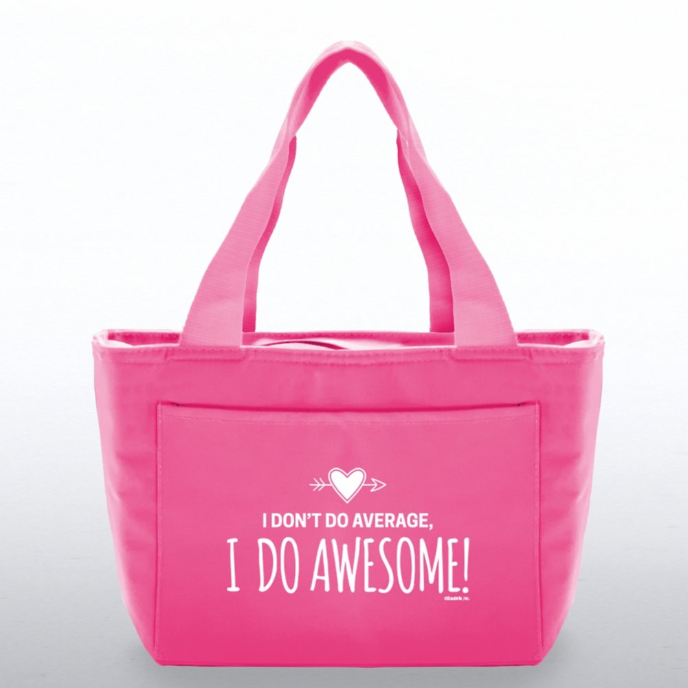 View larger image of Color Pop Value Cooler Tote - I Do Awesome!