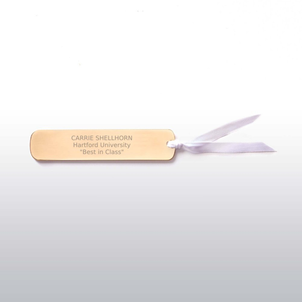 View larger image of Executive Bookmark - Gold