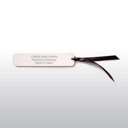 Executive Bookmark - Silver