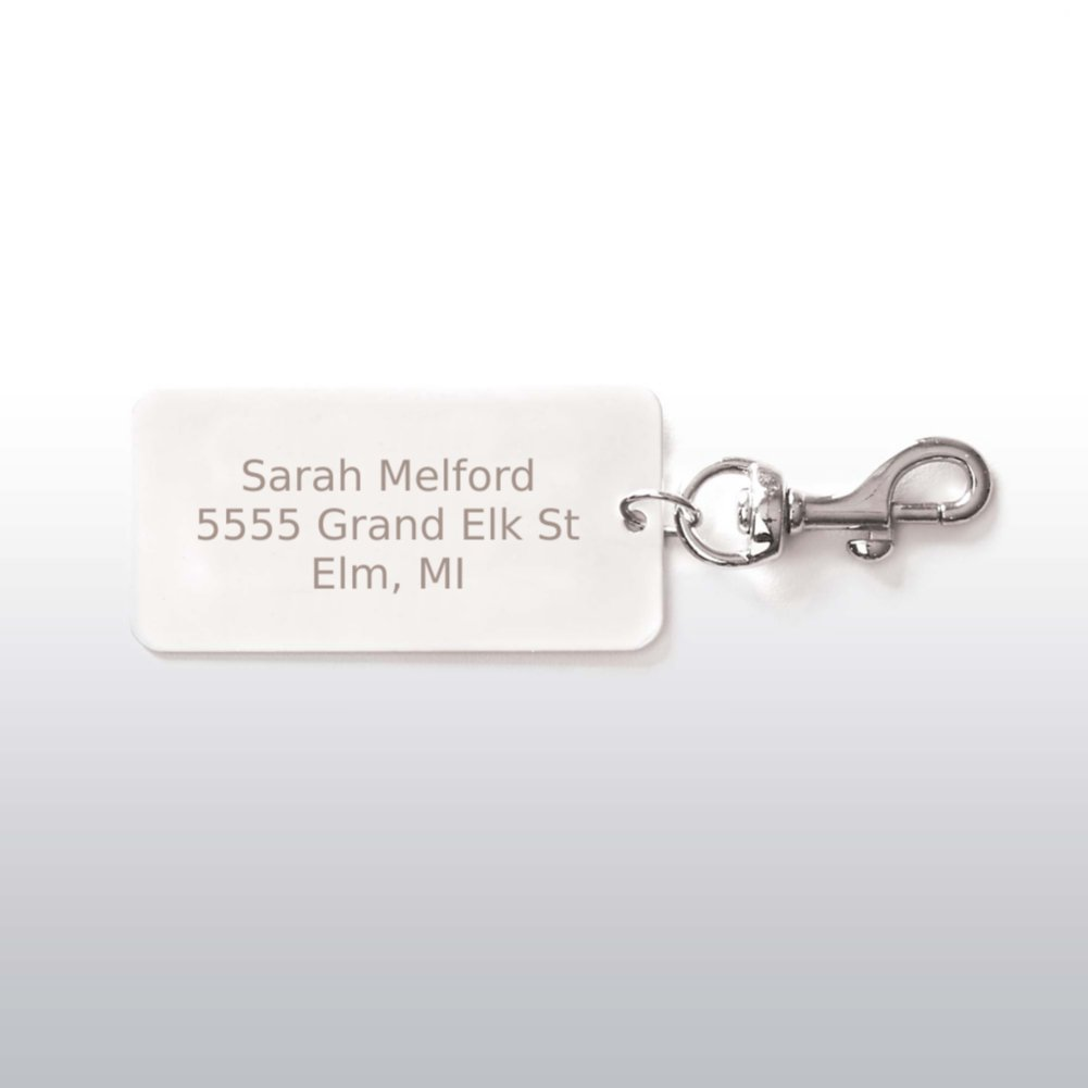 View larger image of Executive Luggage Tag - Silver